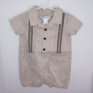 Janie and Jack Outfit Romper Boys 3-6 Mo. NEW